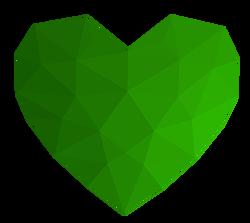 DWZ 1sec 2 groen hart
